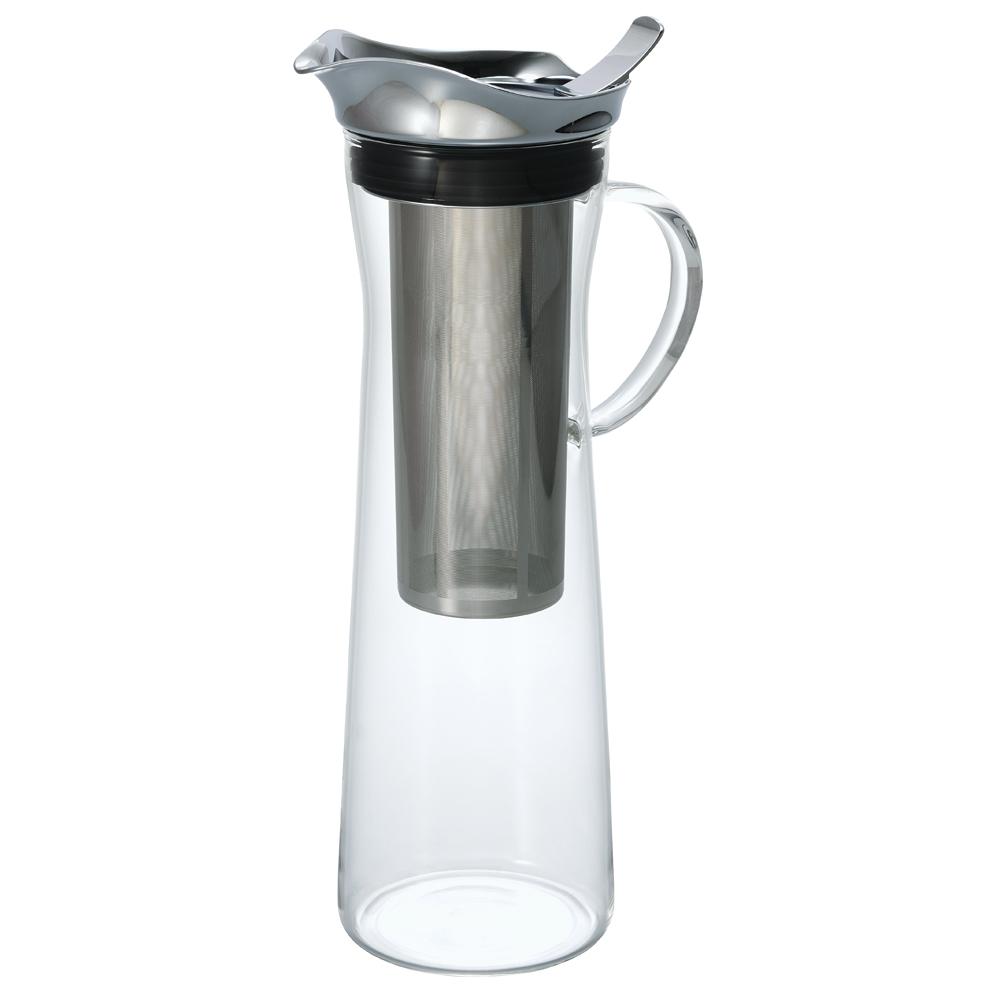 HARIO 不銹鋼把手冷泡咖啡壺1000ml CBC-10SV