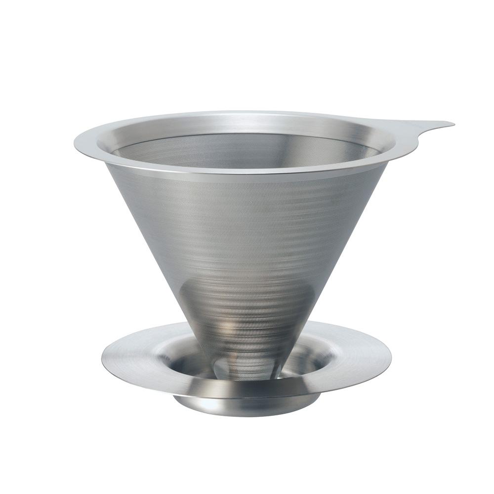 HARIO|V60免濾紙01金屬濾杯 DMD-01-HSV