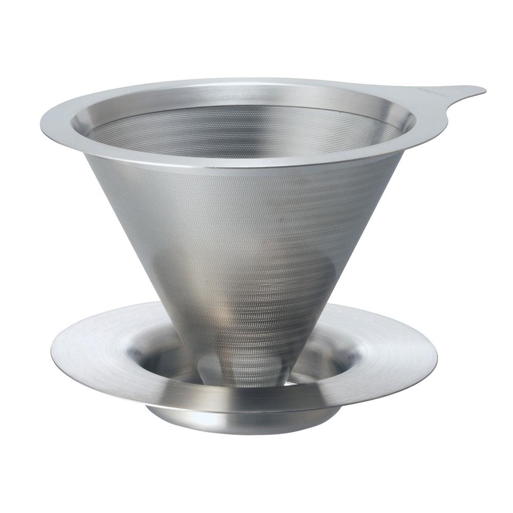HARIO|V60免濾紙02金屬濾杯 DMD-02-HSV