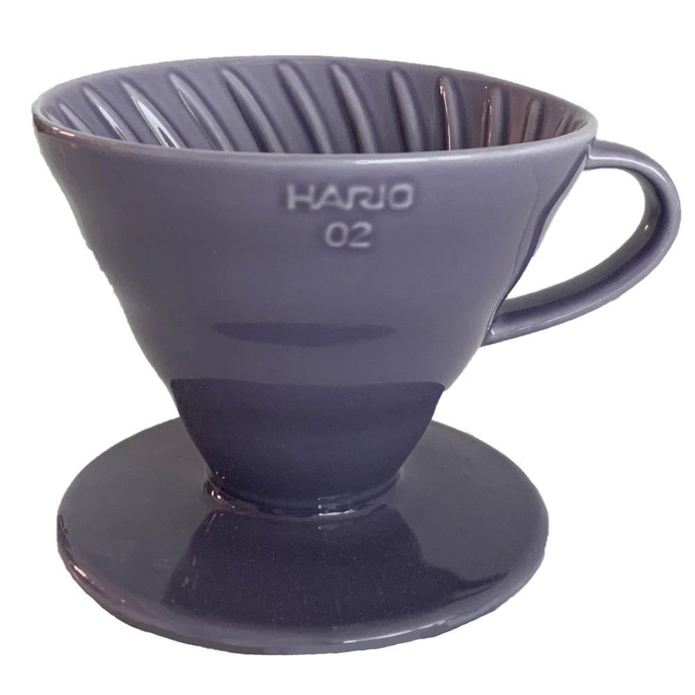 HARIO|V60神秘紫02彩虹磁石濾杯 VDC-02-PU-TW