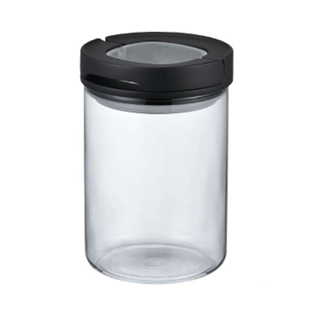 HARIO|密封保鮮罐M黑色 MCNJ-200-B