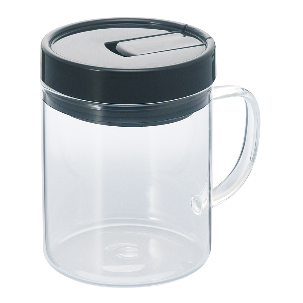 HARIO 把手咖啡保鮮罐M 130克  MCNT-S-B