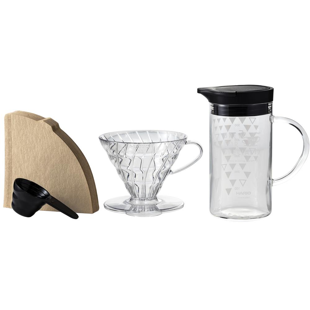 HARIO|V60感溫變色咖啡壺組 VDSS-3012-B