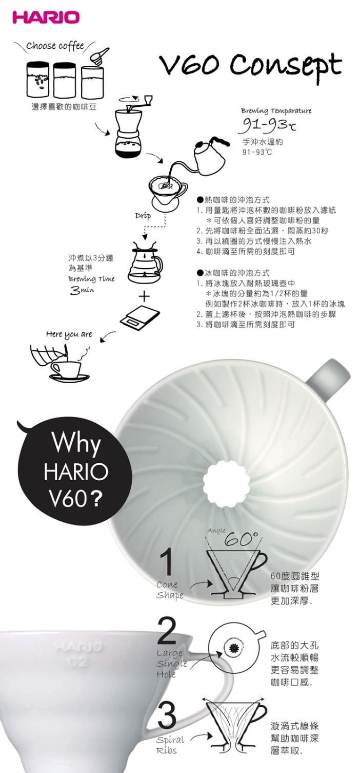 HARIO 經典燒杯咖啡壺300|BV-300