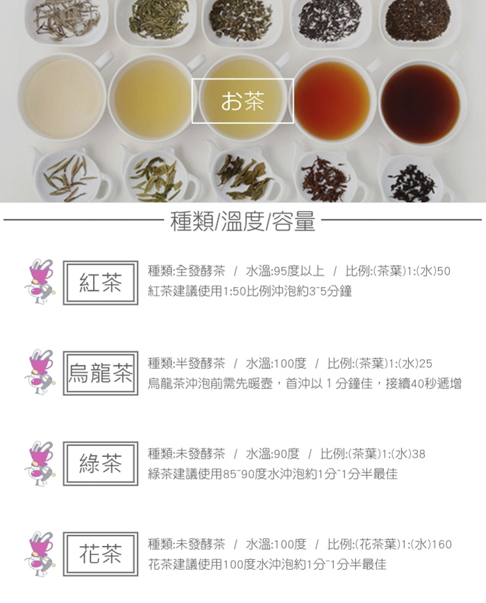 HARIO 新茶王花茶壺300 / CHAN-2SV