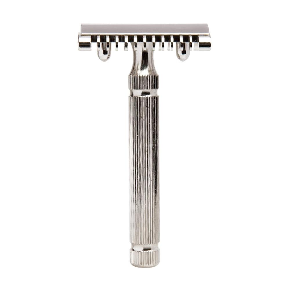 義大利 FATIP 42100 經典安全刮鬍刀 開放刀頭