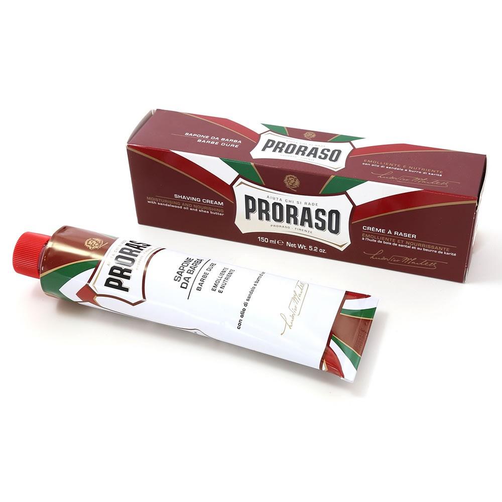 義大利Proraso|經典紅色系刮鬍膏 滋潤 150ml