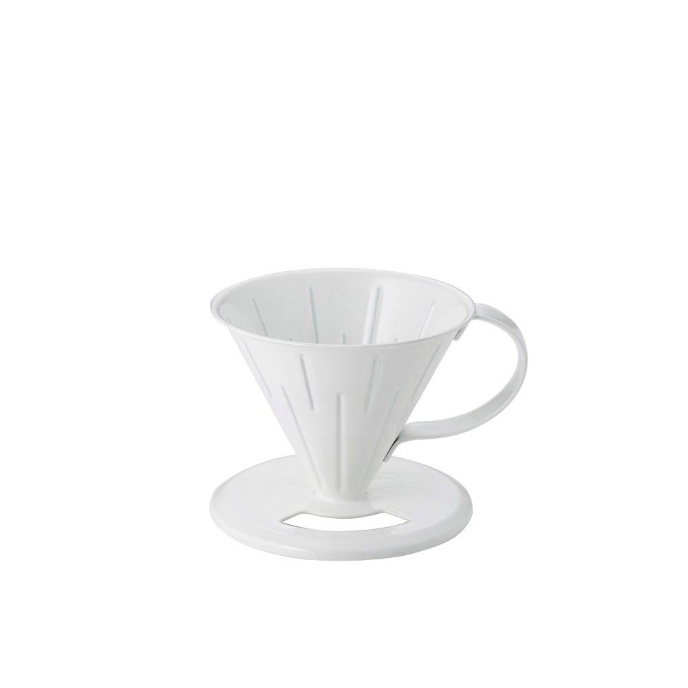 高桑elfin|純白琺瑯咖啡濾杯-2人份