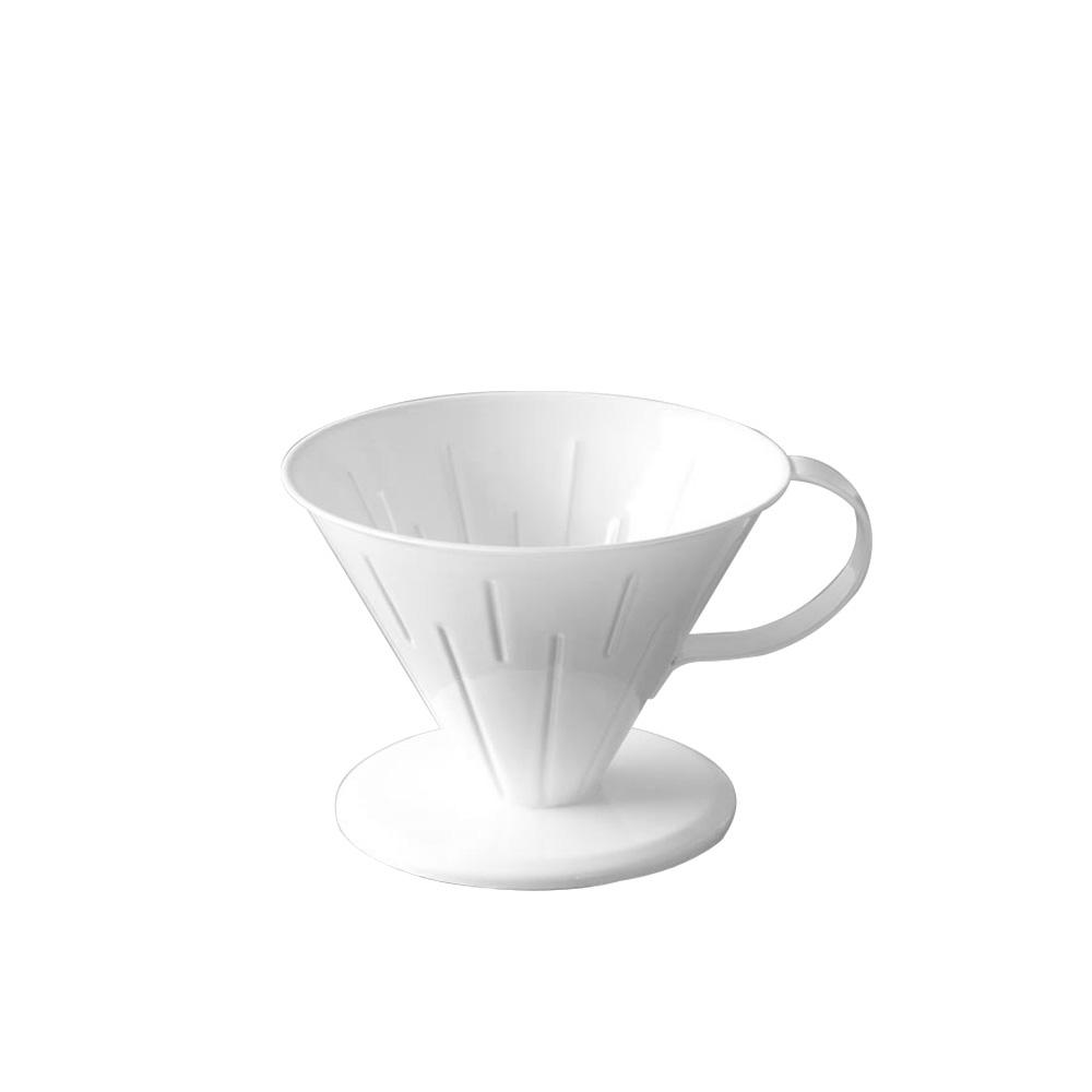 高桑elfin|純白琺瑯咖啡濾杯-4人份