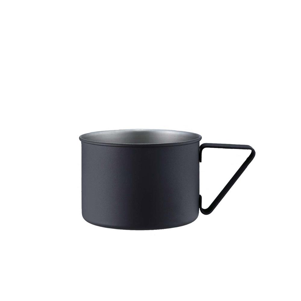 高桑elfin 露營野餐馬克杯370ml-黑