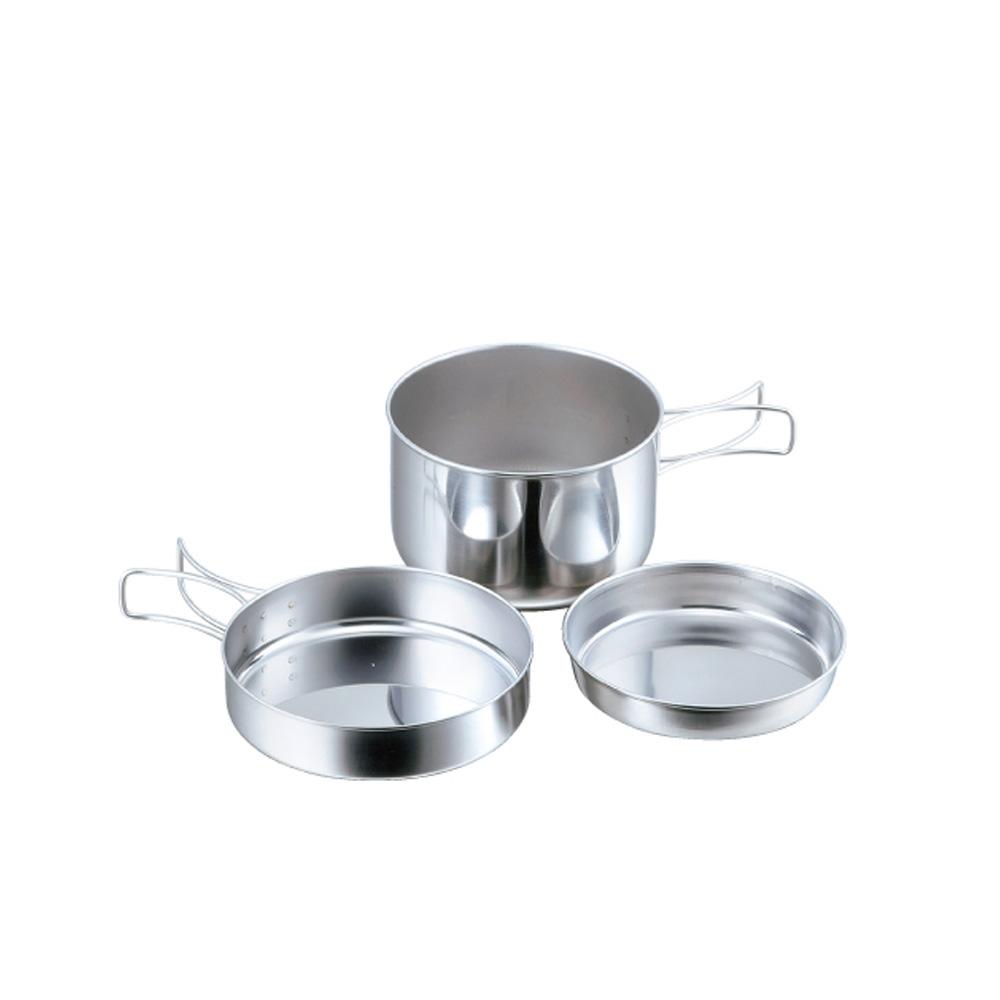 高桑elfin|不鏽鋼碗碟盤3件組(便攜型)