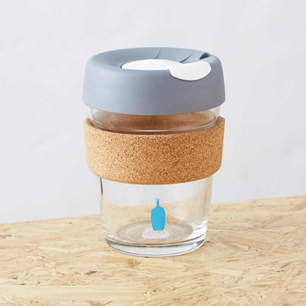 Blue Bottle|KeepCup X 防燙軟木環咖啡玻璃隨行杯340ml