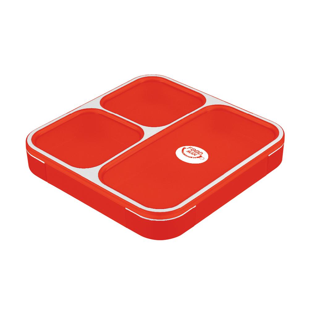 CB Japan 時尚巴黎系列纖細餐盒800ml - 時尚紅