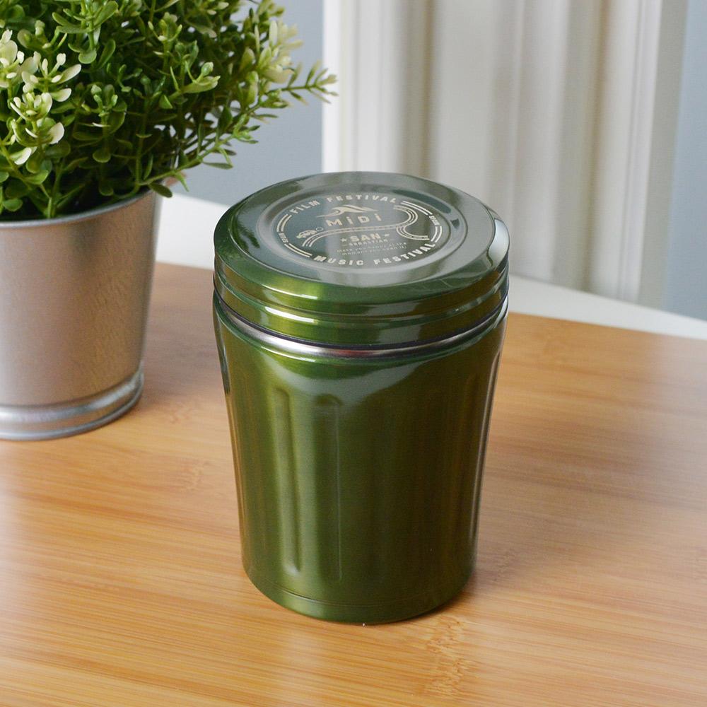 CB Japan|MiDi城市系列雙層保冷保溫湯壺350ml - 橄欖綠
