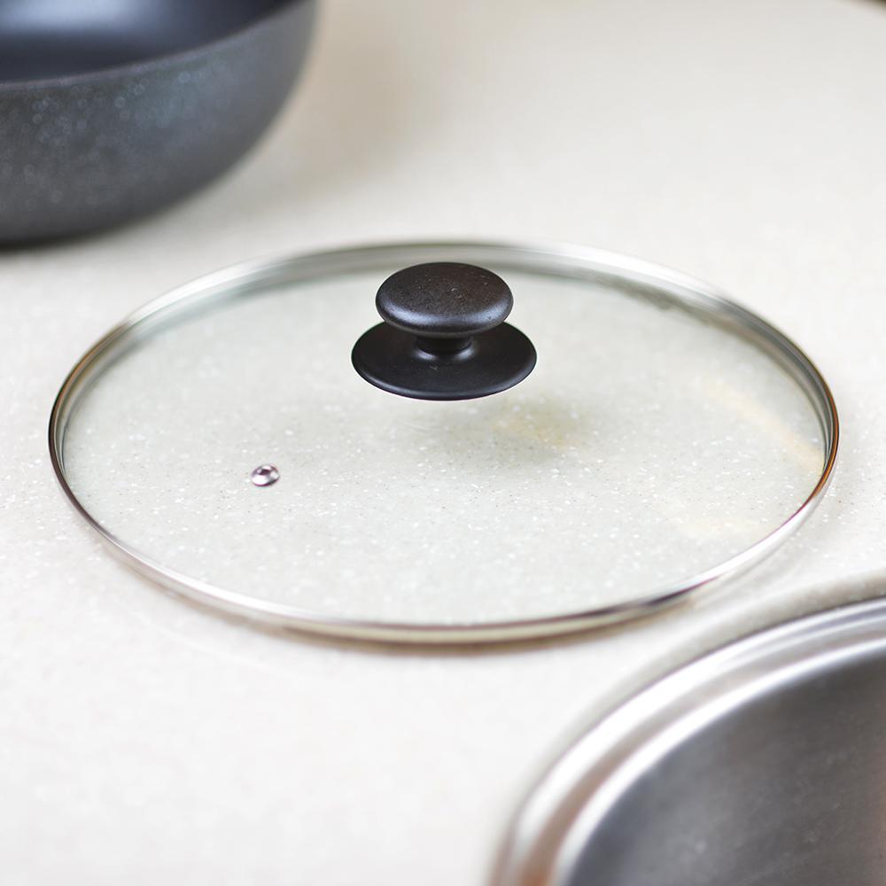 日本珍珠金屬|耐熱玻璃鍋蓋-26cm