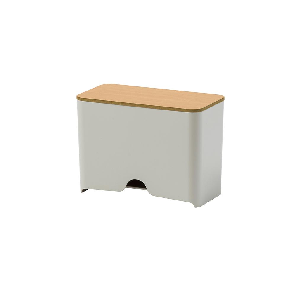 日本IDEACO|原木蓋口罩收納抽取盒