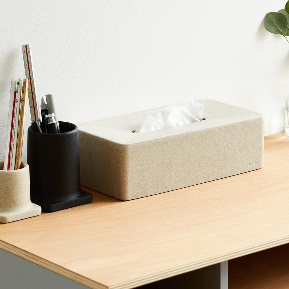IDEACO|砂岩面紙盒