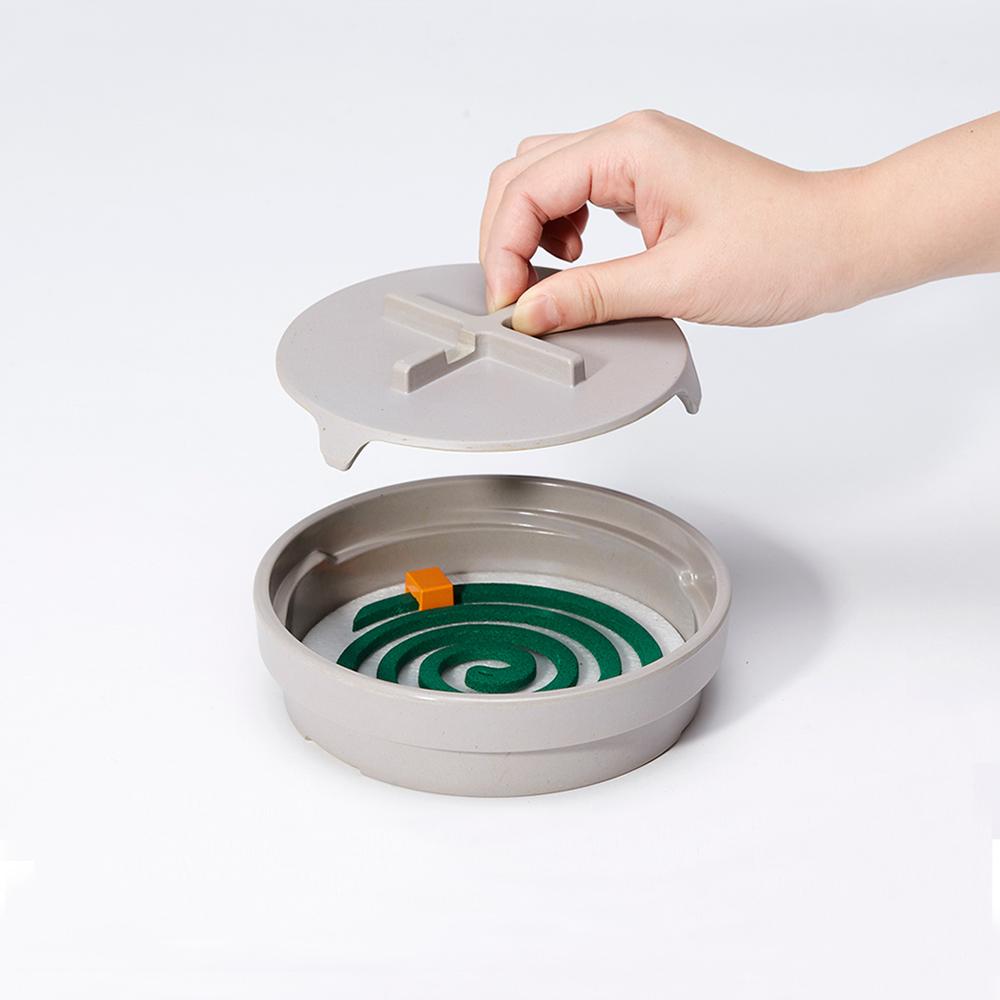 IDEACO 圓形線香蚊香盒