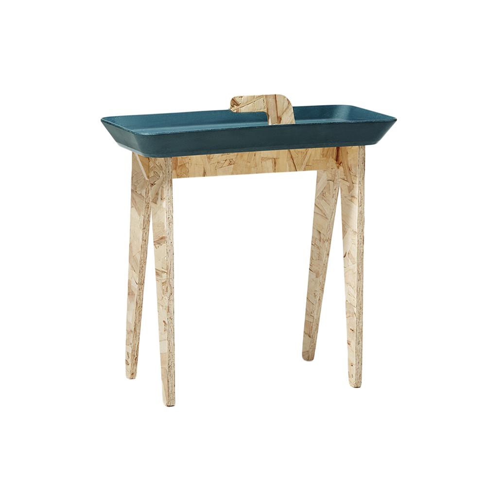 IDEACO 木質托盤側桌