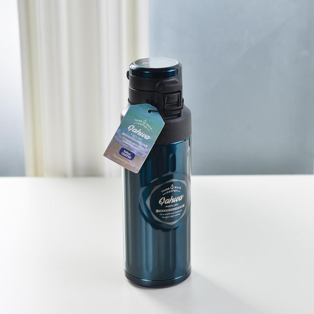CB Japan | Qahwa第三波彈蓋式咖啡專用保冷保溫瓶-420ml