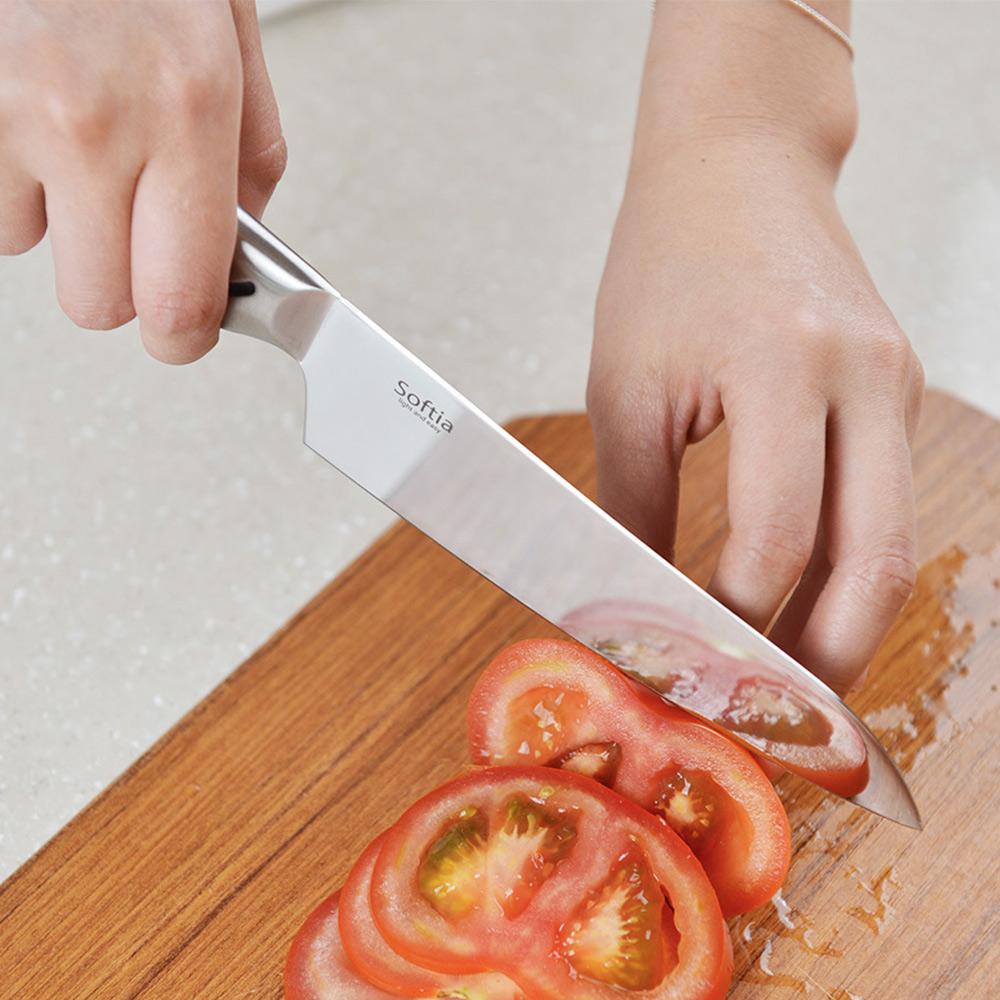 日本Softia  |  一體成形蔬果刀-140mm