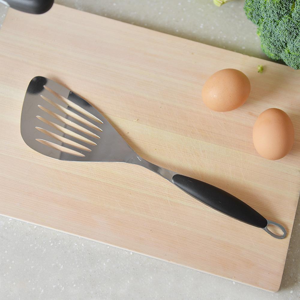 Softia    防燙手不鏽鋼煎匙