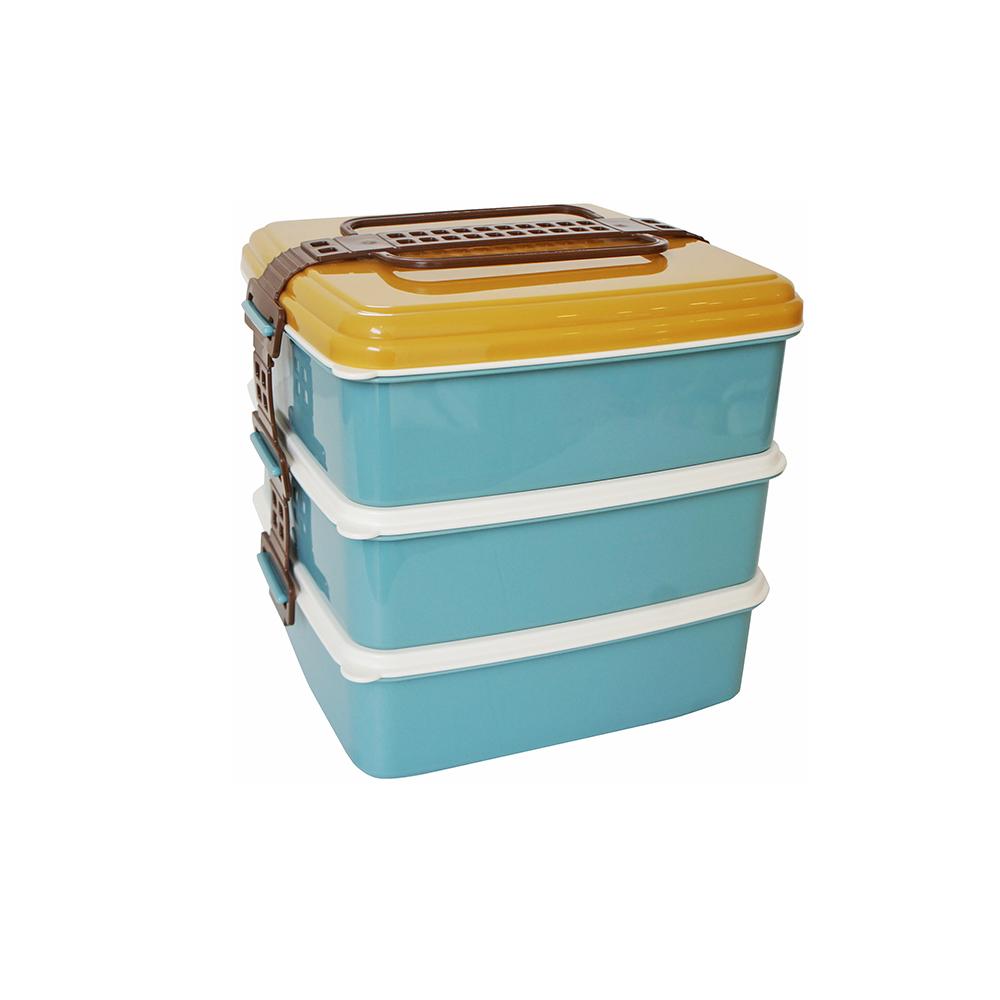 BISQUE|3層野餐便當盒-L