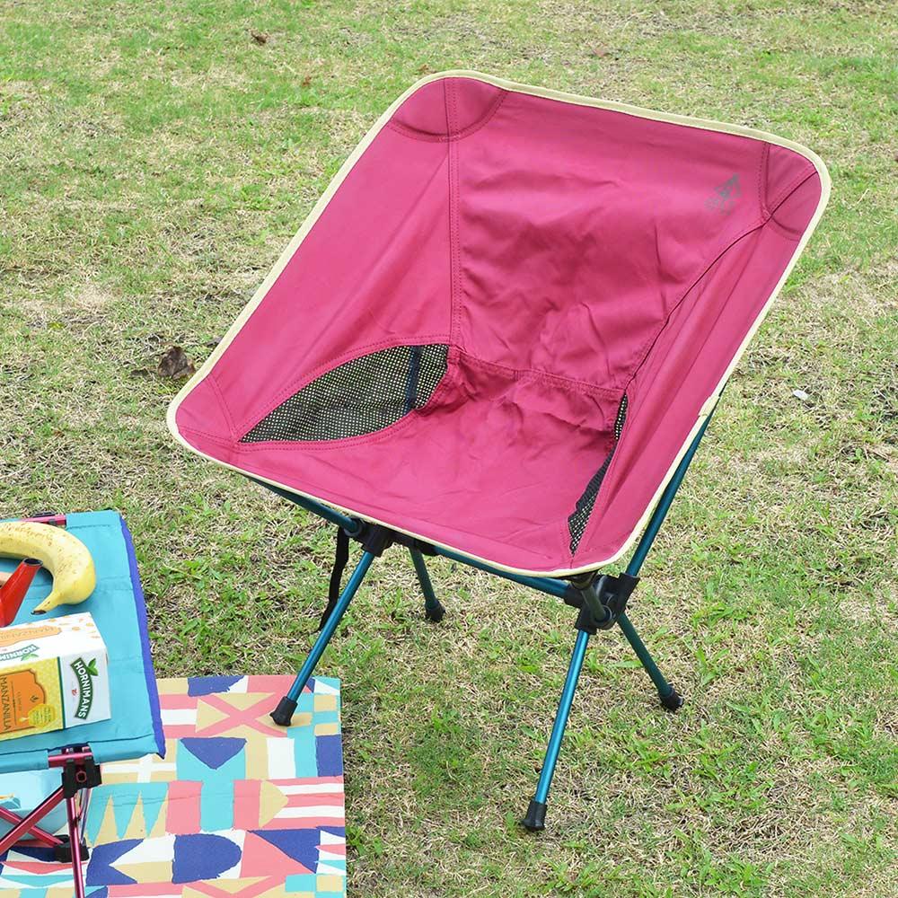 日本BISQUE|輕量耐重野餐露營椅