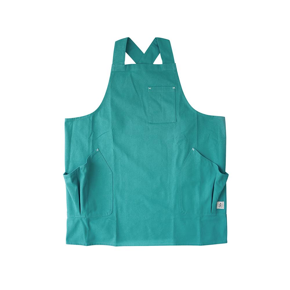 BISQUE|棉質工作圍裙附口袋