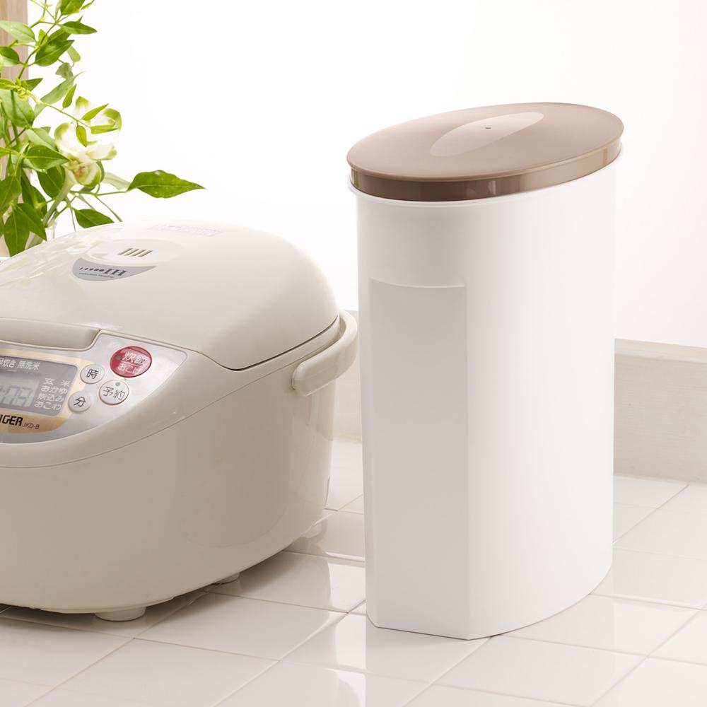 ISETO   不透光雜糧保鮮儲米桶-5kg