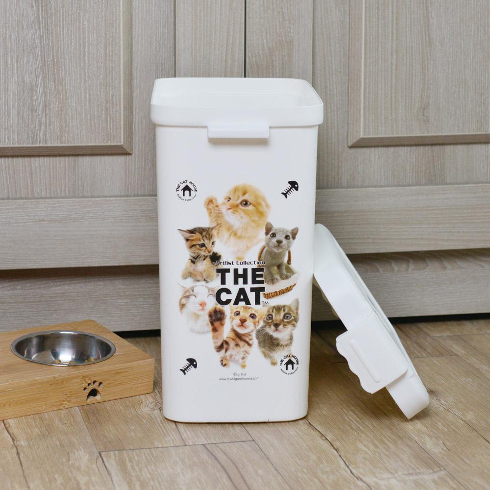 ISETO | 日製寵物飼料零食密封收納桶-13L