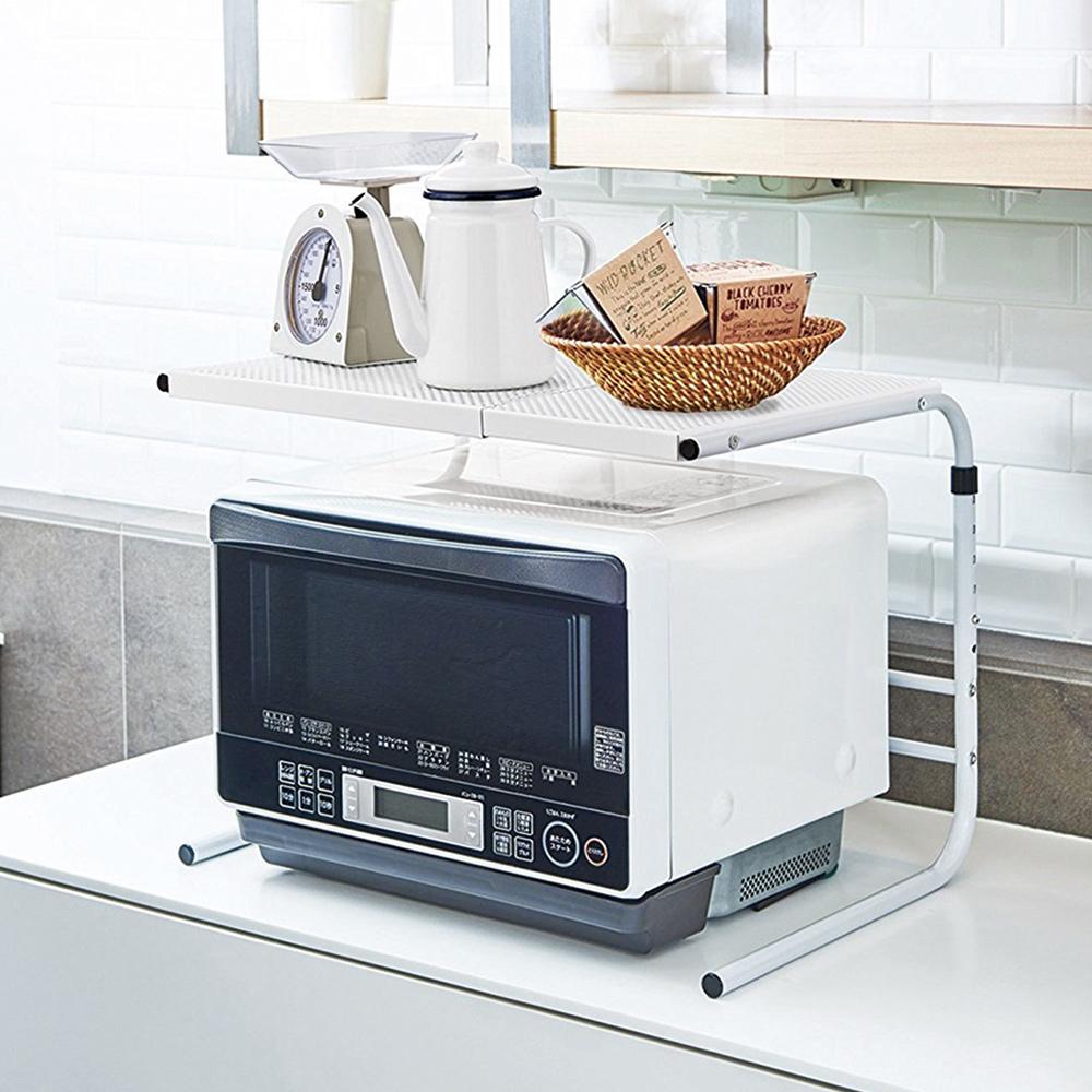 天馬 微波爐烤箱收納置物層架(伸縮型)