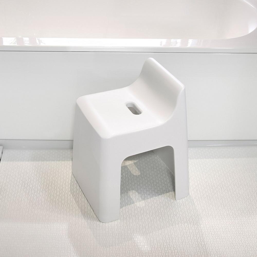 岩谷Iwatani|RETTO曲面一體簡約室內穿鞋浴室椅凳