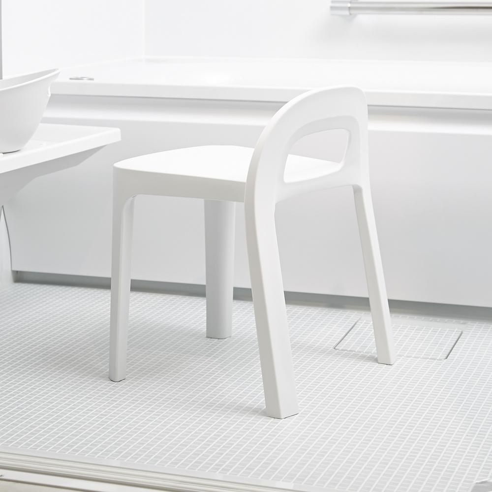 岩谷Iwatani RETTO高腳一體簡約室內穿鞋浴室椅凳