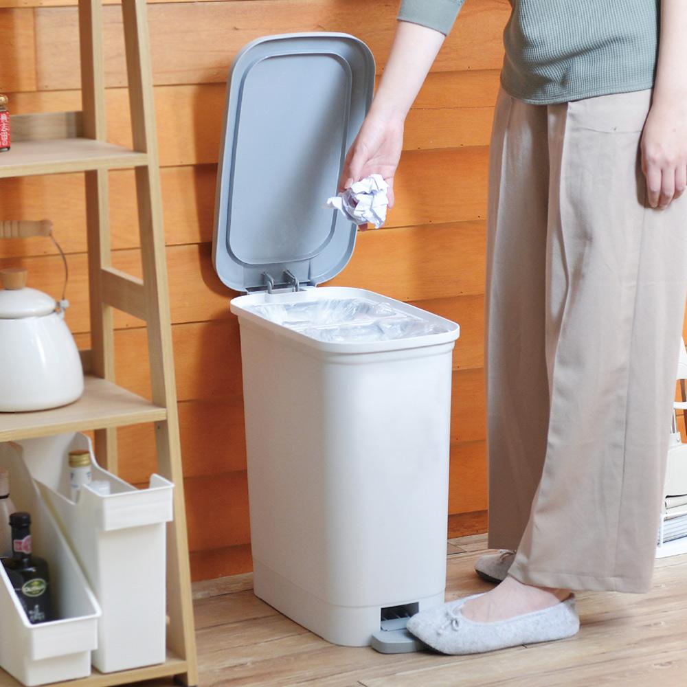 天馬 dustio分類腳踏抗菌垃圾桶(深型)-20L