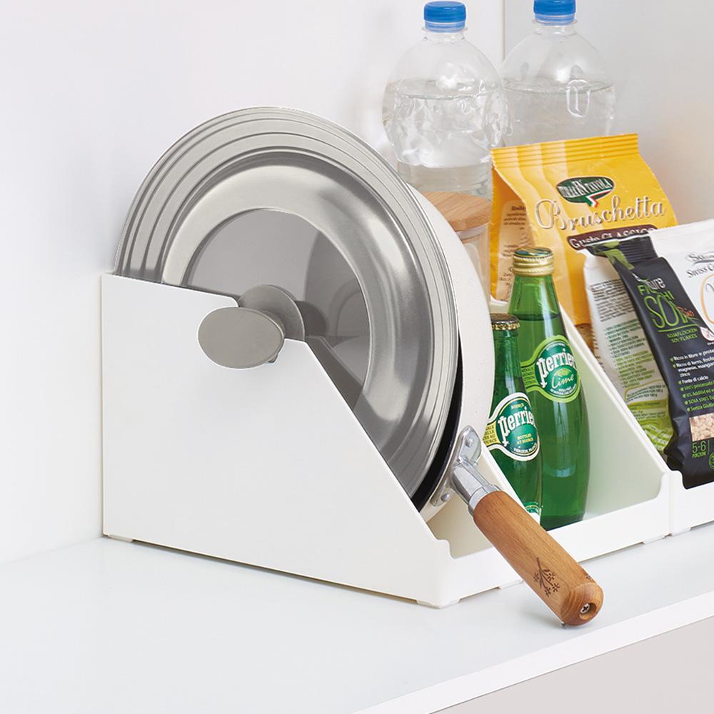 日本天馬 廚房系列斜取式櫥櫃抽屜用ABS收納籃-寬9CM-3入