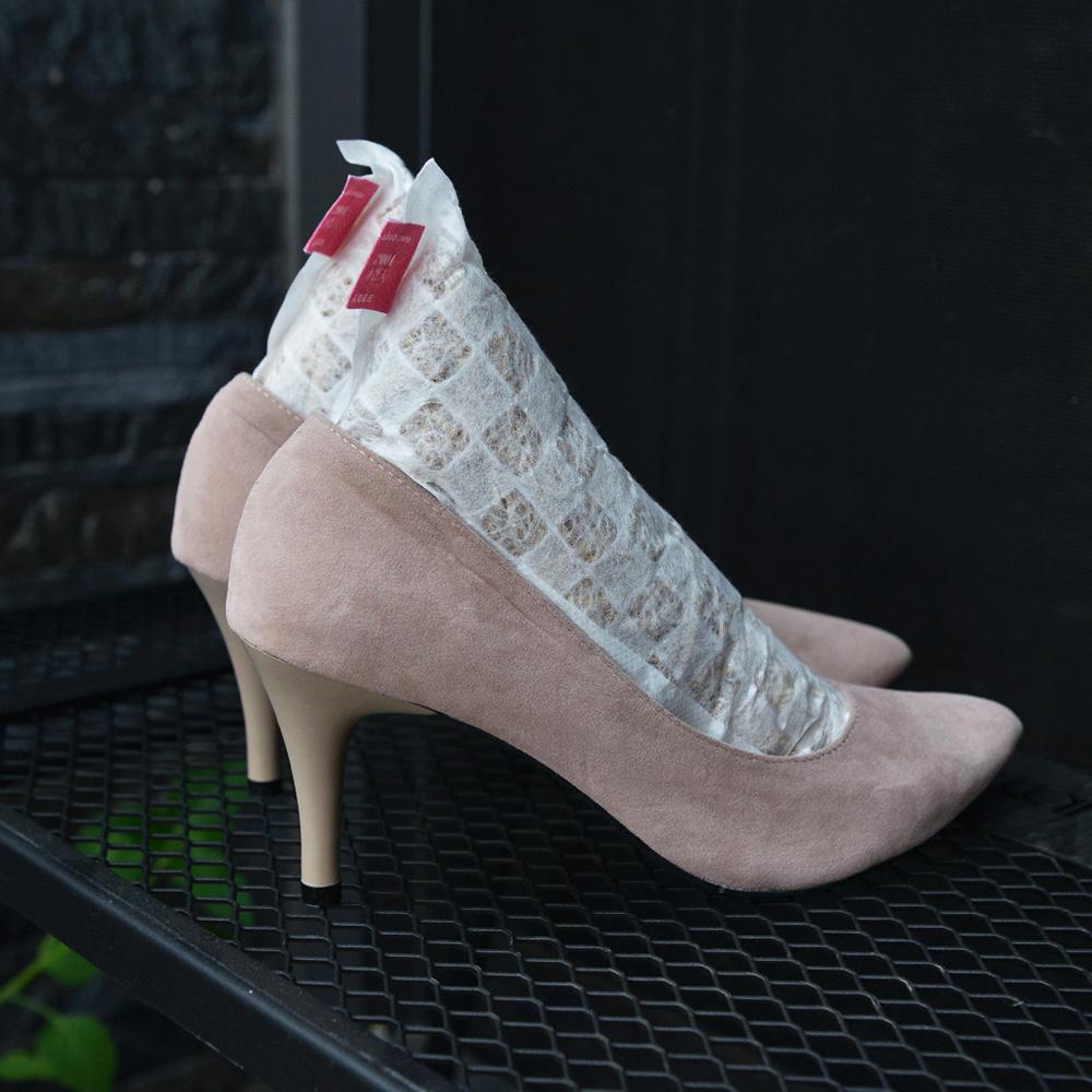 +O家窩 X 戶田|日本製天然木絲除溼/消臭芳香鞋塞-女鞋專用-1雙入-2種味道可選