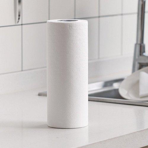 霜山|可水洗重複用吸水吸油/擦碗/擦臉萬用紙巾-3捲組