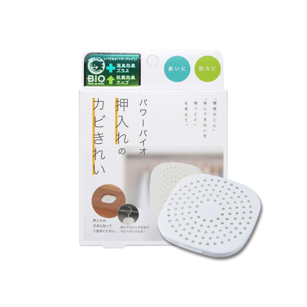 COGIT|日製BIO可掛式長效除臭防霉貼片盒(威力加強版)-衣櫃/櫥櫃用-3入