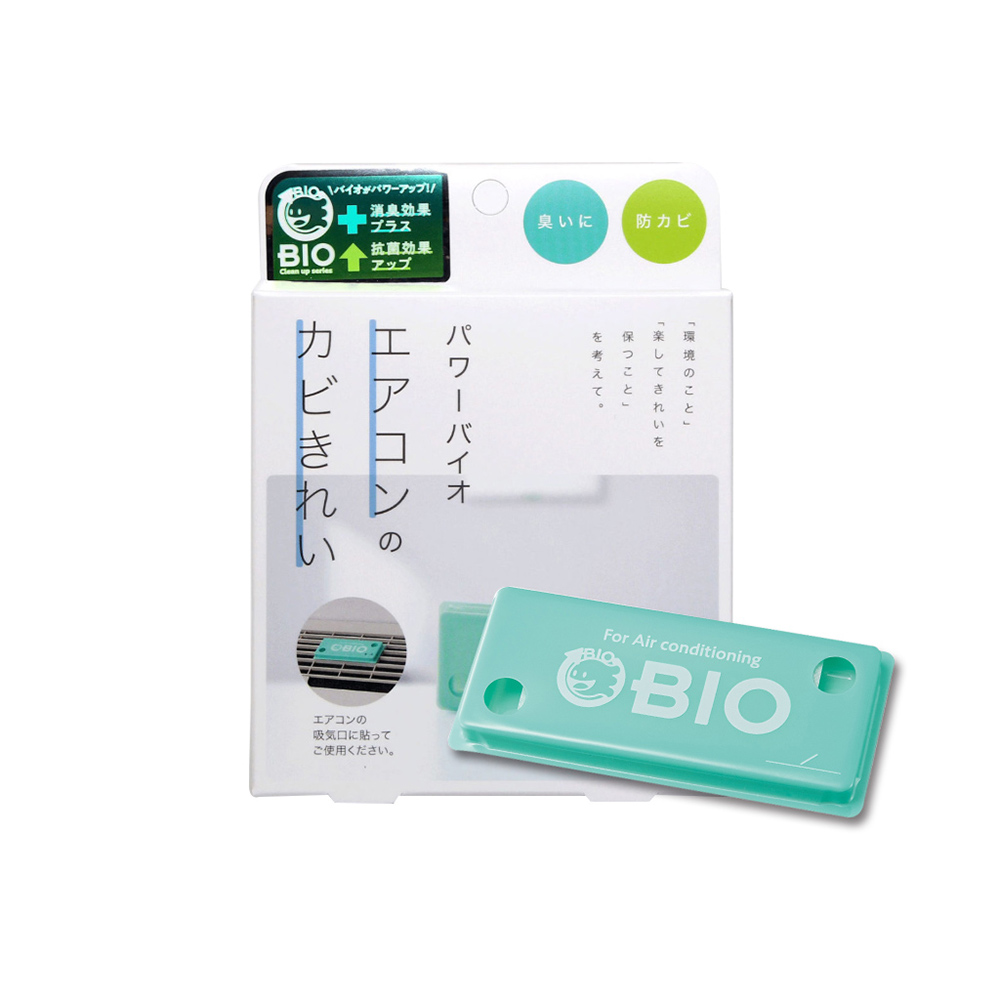 COGIT|日製BIO長效除臭防霉貼片盒(威力加強版)-冷氣/空調用-3入