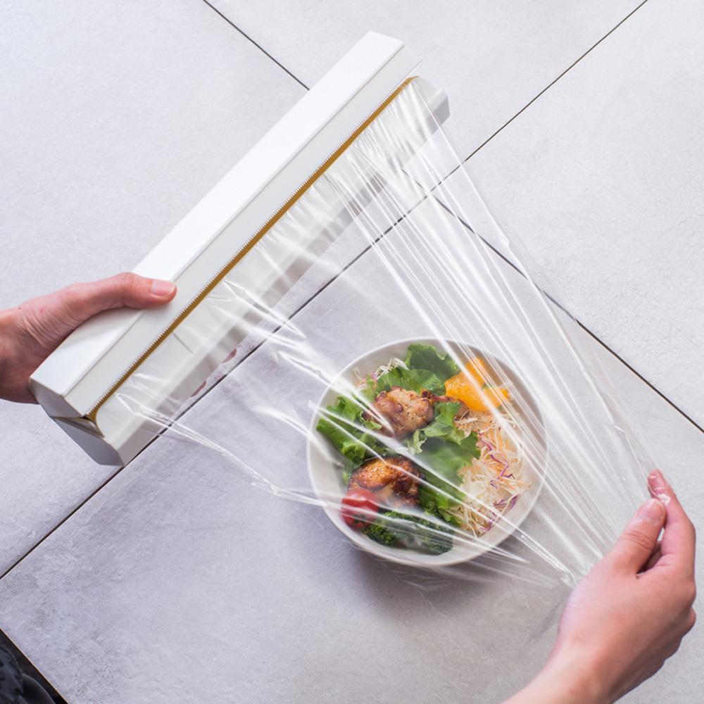 ideaco|ABS保鮮膜/鋁箔紙/料理紙切割收納盒