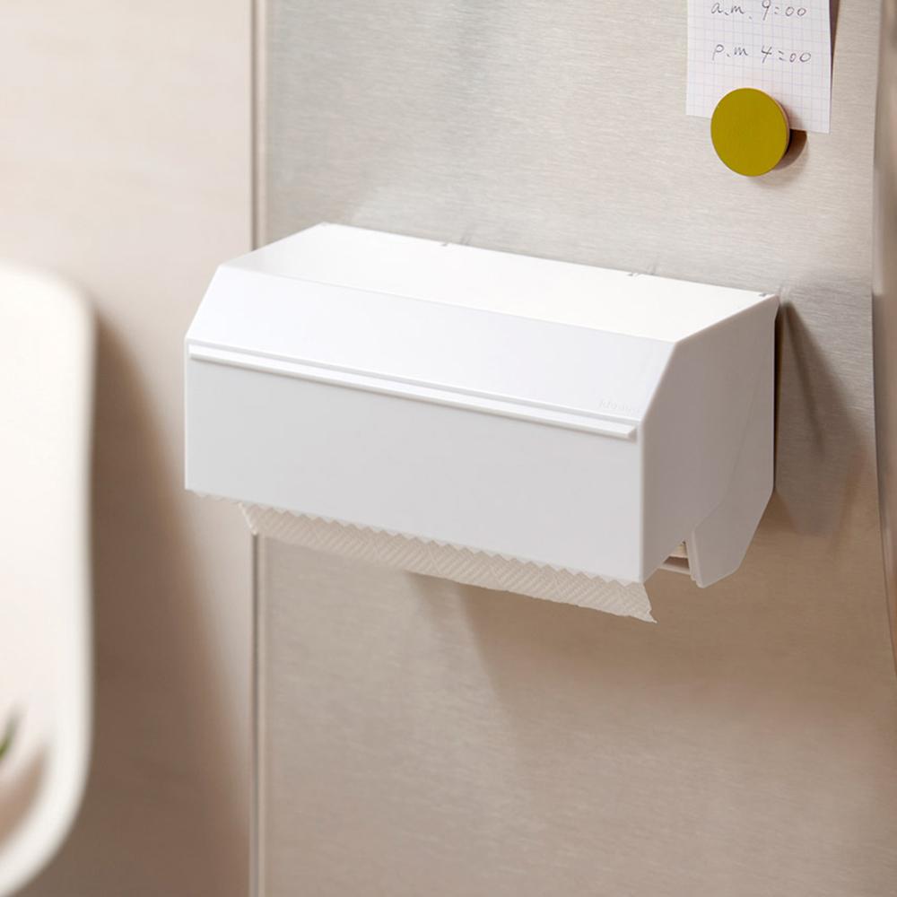 IDEACO|磁吸式ABS廚房紙巾切割收納盒