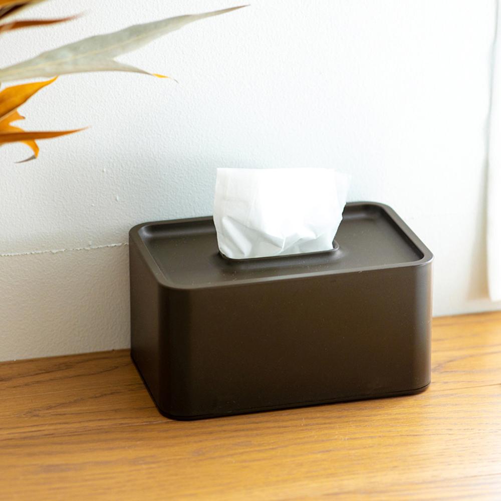 IDEACO|壁掛/桌上兩用餐巾紙盒(內徑17X10.6X7.5CM)