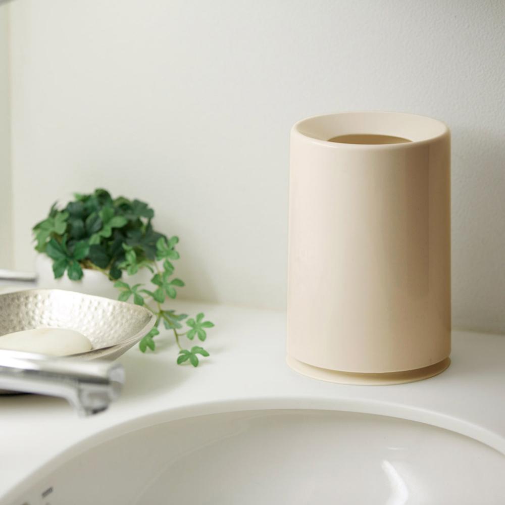 IDEACO|摩登圓形桌邊垃圾桶-1.2L