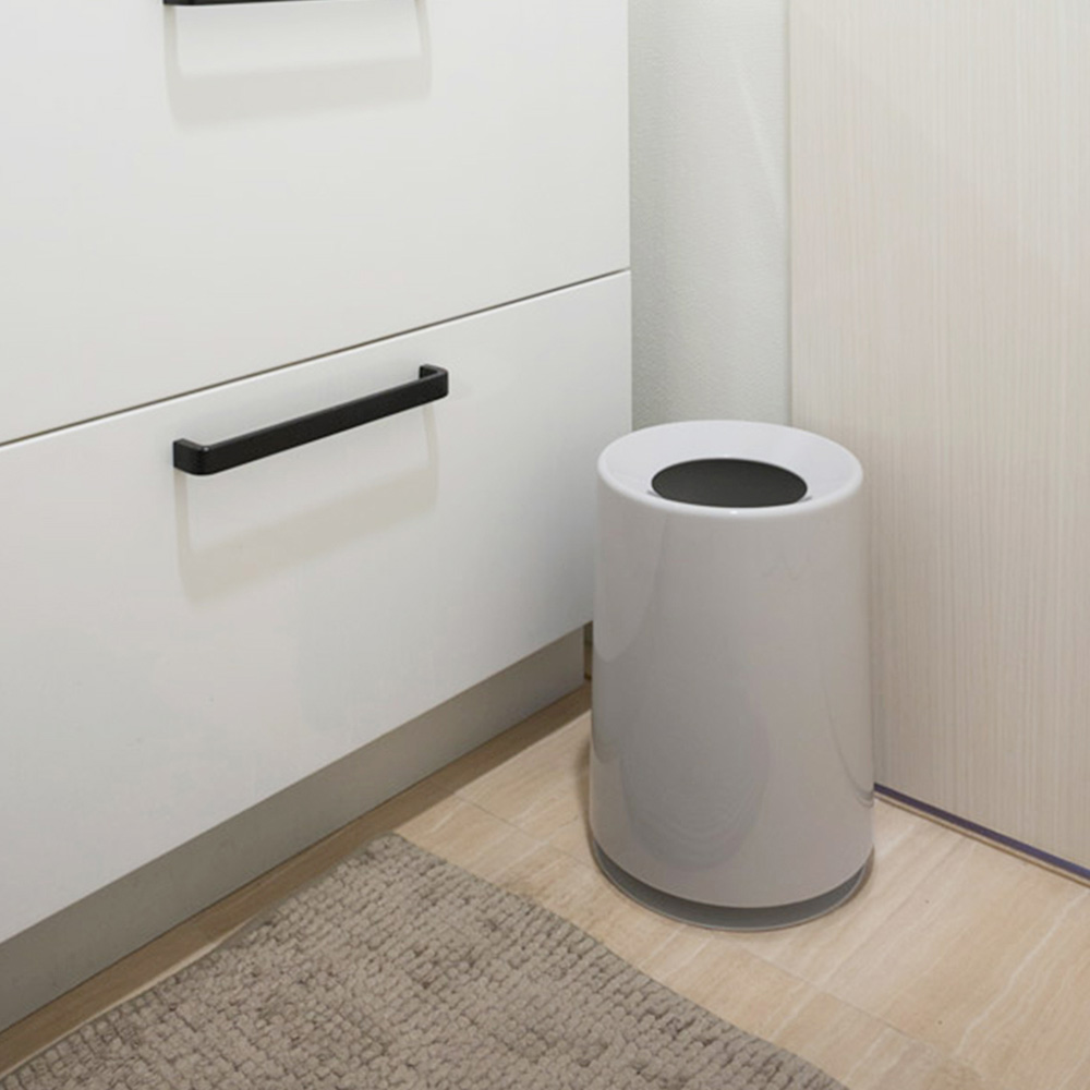 IDEACO|摩登圓形家用垃圾桶-6L