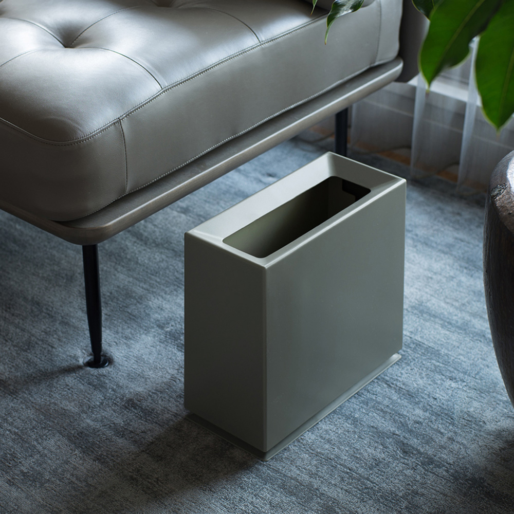 IDEACO|方磚家用垃圾桶-8.5L