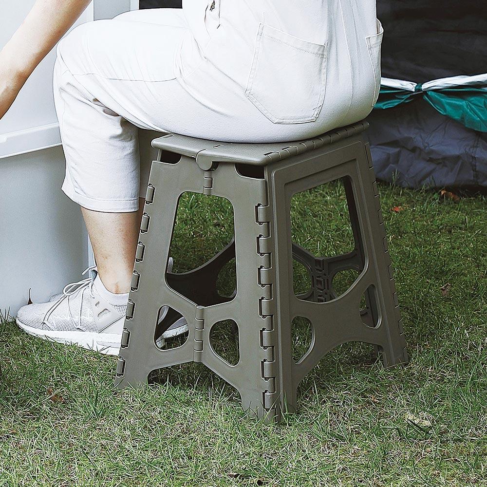 天馬|快收耐固便攜式防滑摺疊/摺合椅-高39CM-2色可選
