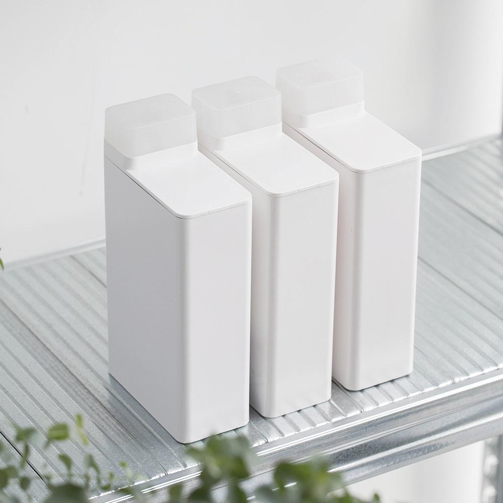 霜山 ABS可計量密封洗衣精/柔軟精分裝瓶-700ml-3入組