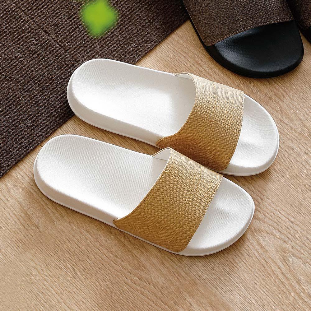 霜山 EVA日系極簡舒壓防滑拖鞋(室內/室外用)-多色男女款可選