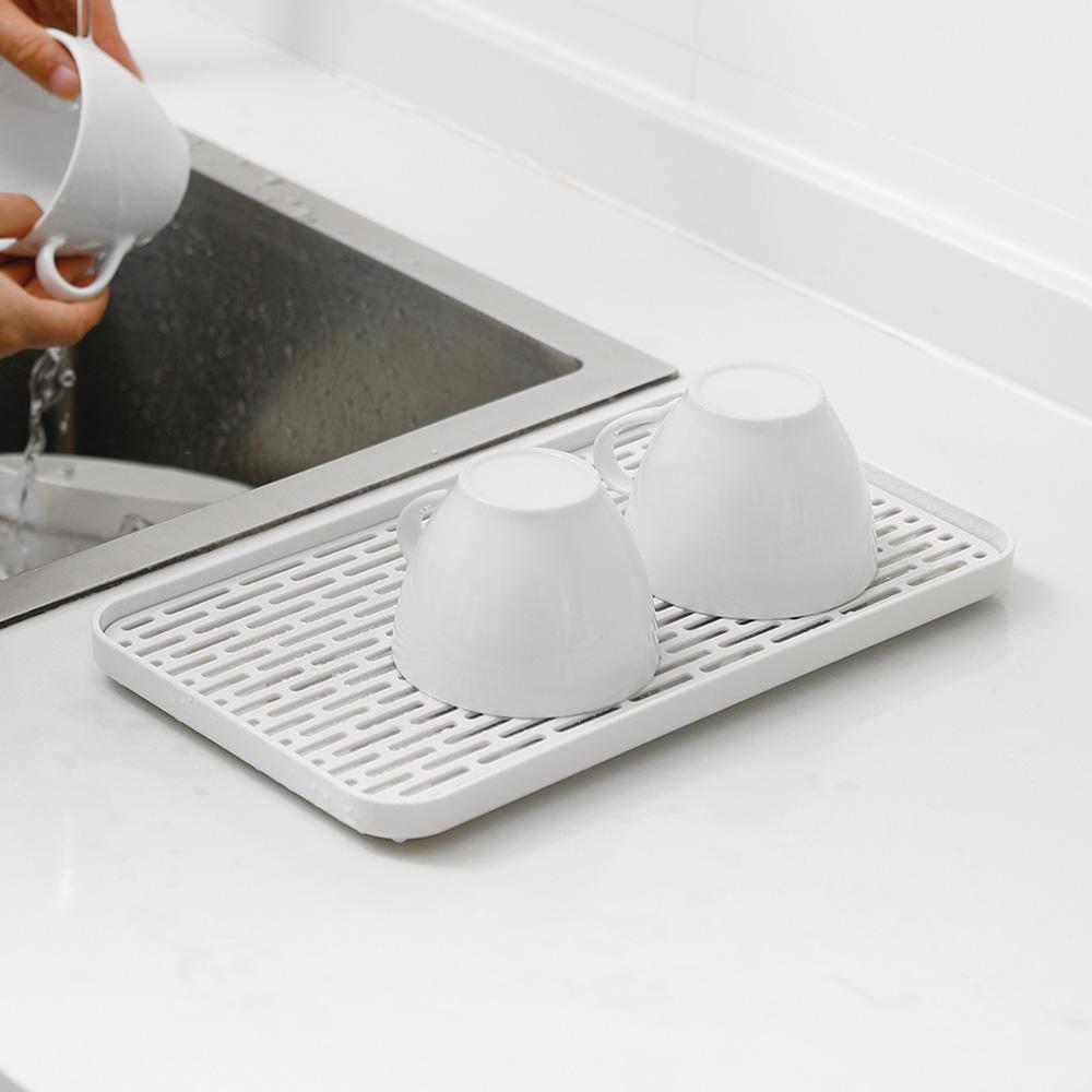 霜山|多功能廚具碗盤雙層瀝水盤/托盤-寬型